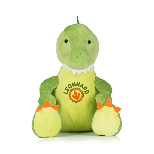 Stifftoer Dinosaurier personalisiert mit Namen